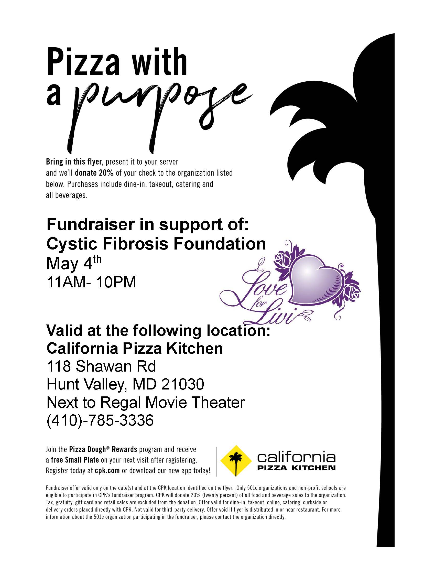 Incredible Cff Fundraiser At Cpk Download Free Architecture Designs Momecebritishbridgeorg